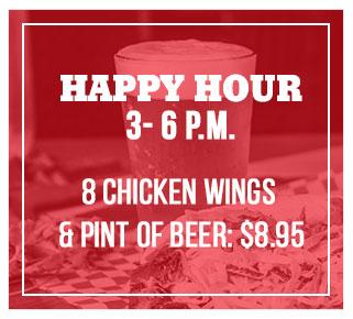 happyhour chicken wings